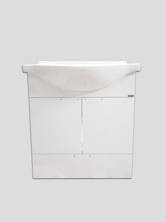 LB ELEMENTS B skříňka závěsná vč.umyvadla ELB65B.L bílá - Koupelnový nábytek / Skříňky pod umyvadlo