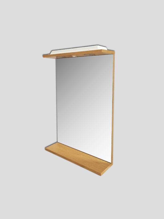 LB ELEMENTS B zrcadlo ELBZ47.D dub - Koupelnový nábytek / Zrcadlové skříňky