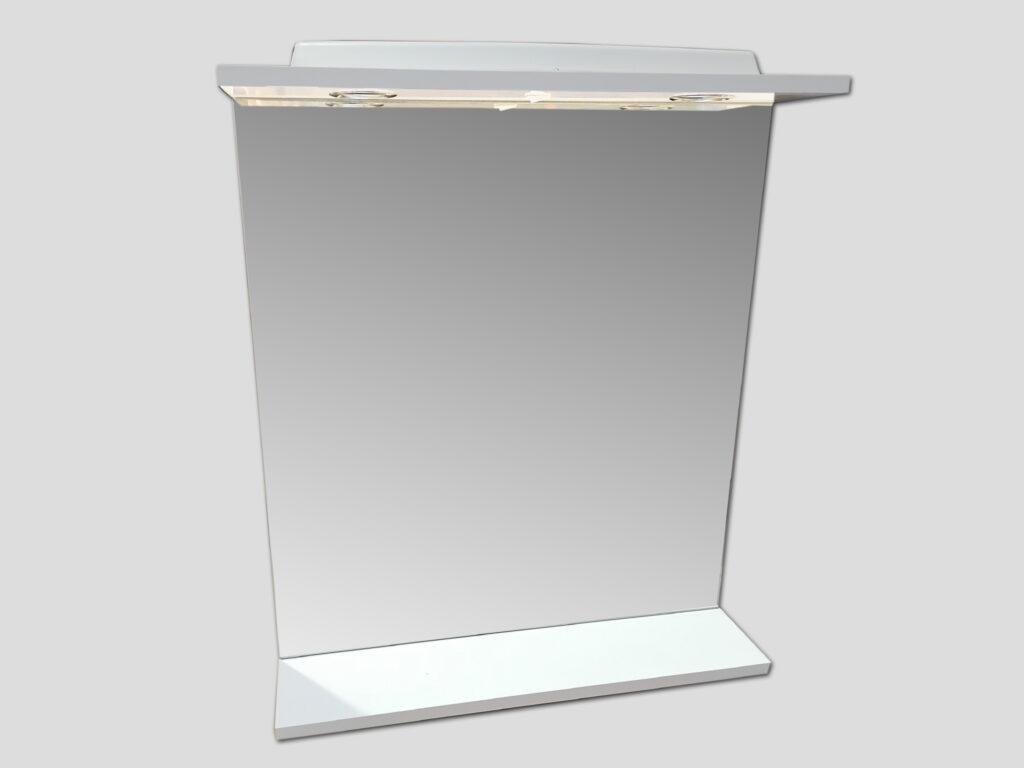 LB ELEMENTS C zrcadlo ELBZ60.L bílá - Koupelnový nábytek / Zrcadlové skříňky