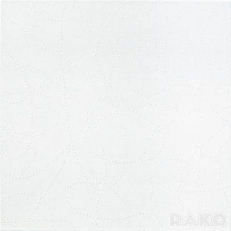 Dlažba Coral 39,7/39,7 bílá GAT3F030 - Doprodej obkladů a dlažeb / Obklady a dlažby RAKO