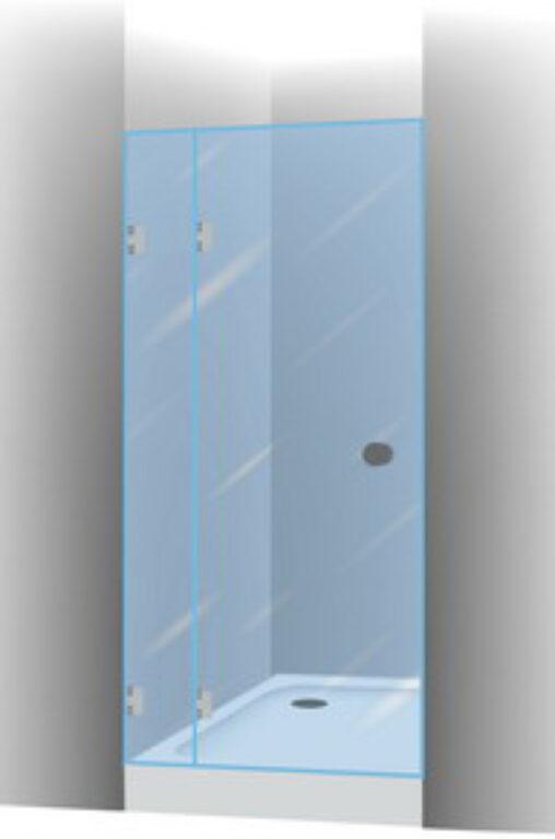 RIHO SCANDIC S104 90/200 sprch zástěna GC05200 - Sprchové kouty pro koupelny / Dveře do niky / Katalog koupelen