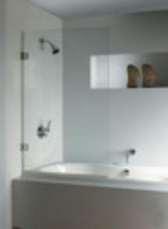 RIHO SCANDIC S107 90cm vanová zástěna GC15200 - Vany / Vanové zástěny do koupelen