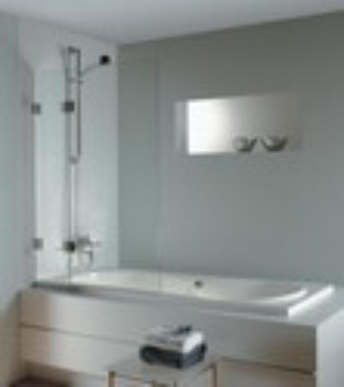 RIHO SCANDIC S109 95/150 vanová zástěna GC20200 - Vany / Vanové zástěny do koupelen