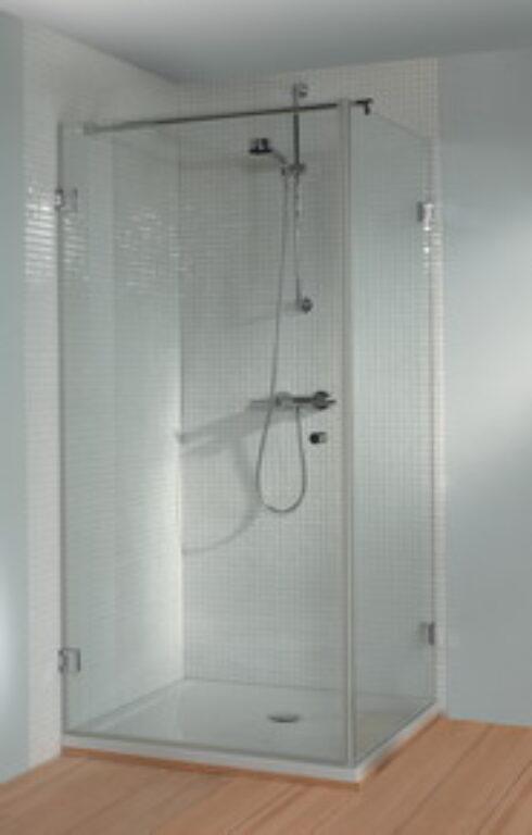 RIHO SCANDIC S201 sprch. zástěna 90/90/200 GC23200 - Vany / Vanové zástěny do koupelen