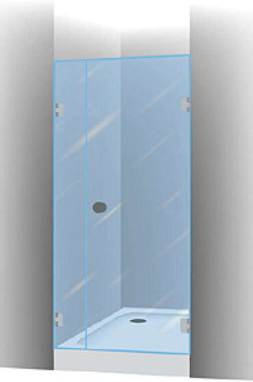 RIHO SCANDIC S102 sprch.zástěna pravá 160 - Sprchové kouty pro koupelny / Dveře do niky