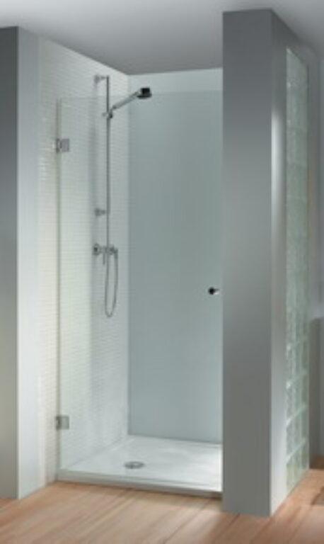 RIHO SCANDIC S101 sprch.zástěna 80 pravá GC80200 - Sprchové kouty pro koupelny / Dveře do niky / Katalog koupelen