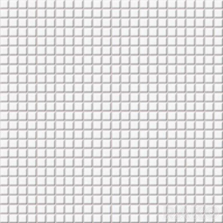Mozaika Tetris 30/30 bílá 1,1x1,1 cm GDM01000 - Doprodej obkladů a dlažeb / Mozaiky
