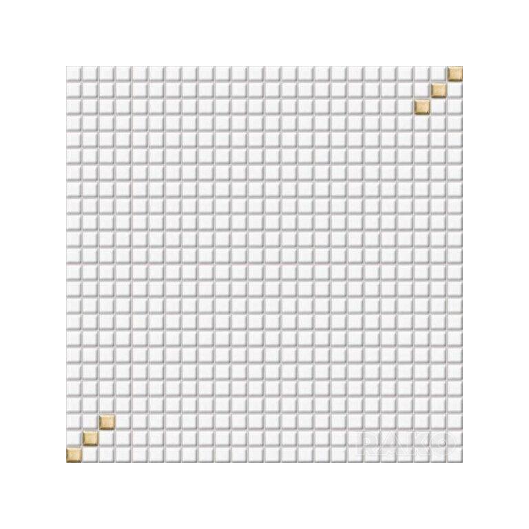 Mozaika Tetris 30/30 bílá 1,1x1,1 cm GDM01001 - Doprodej obkladů a dlažeb / Obklady a dlažby RAKO v doprodeji