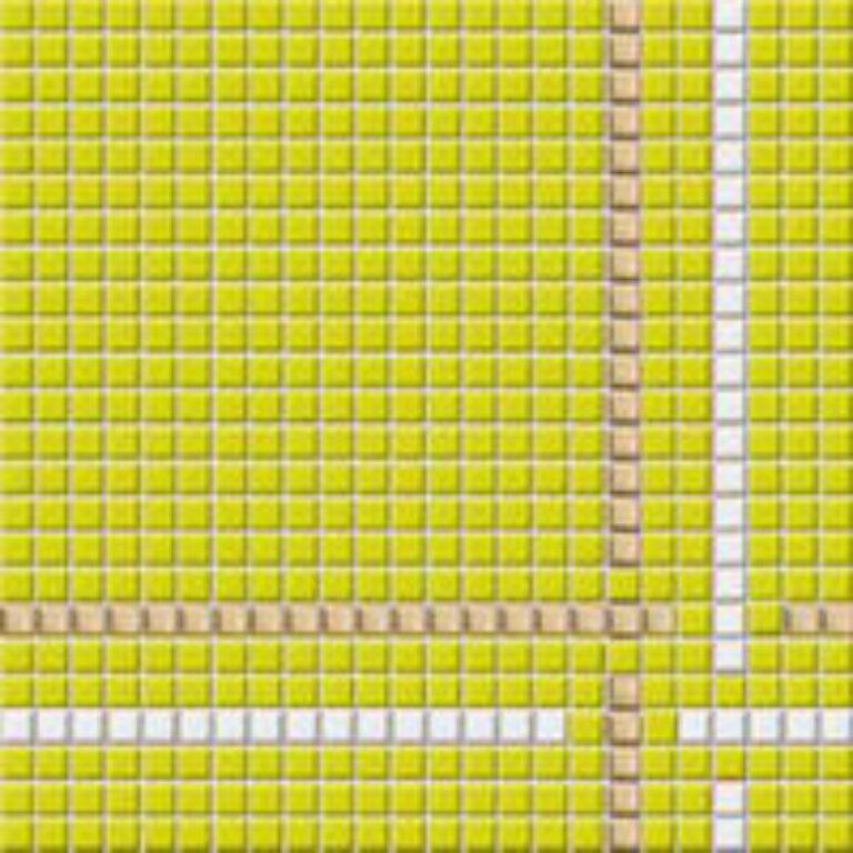 Mozaika Tetris 30/30 zelená 1,1x1,1 GDM01022 - Doprodej obkladů a dlažeb / Obklady a dlažby RAKO v doprodeji