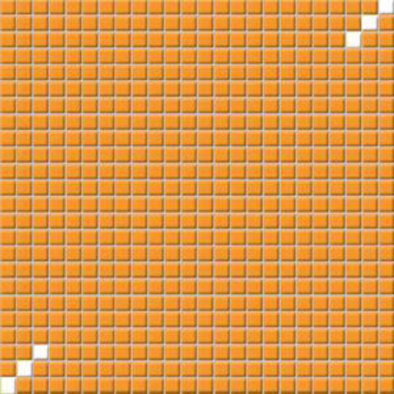 Mozaika Tetris 30/30 oranžová 1,1x1,1 GDM01031 - Doprodej obkladů a dlažeb / Obklady a dlažby RAKO v doprodeji