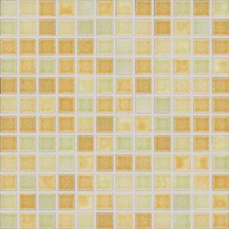 Mozaika City 30/30 lesklá žlutozelená mix 2,3x2,3 cm GDM02059 - Doprodej obkladů a dlažeb / Mozaiky