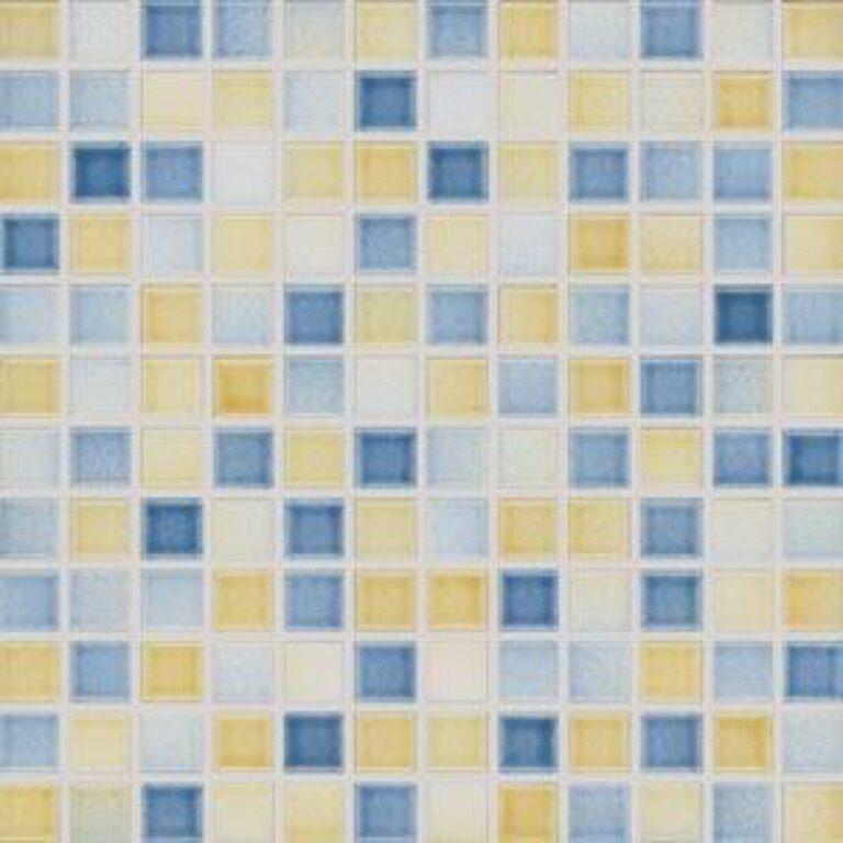 2CX060 30/30 I.j.mozaika city lesklá modrožlutá GDM02060 - Doprodej obkladů a dlažeb / Mozaiky