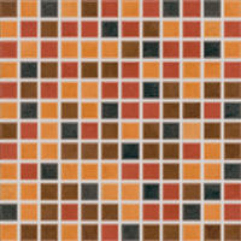 savana 30/30 I.j.mix barev tmavá mozaika 2,3x2,3 GDM02215 - Doprodej obkladů a dlažeb / Mozaiky