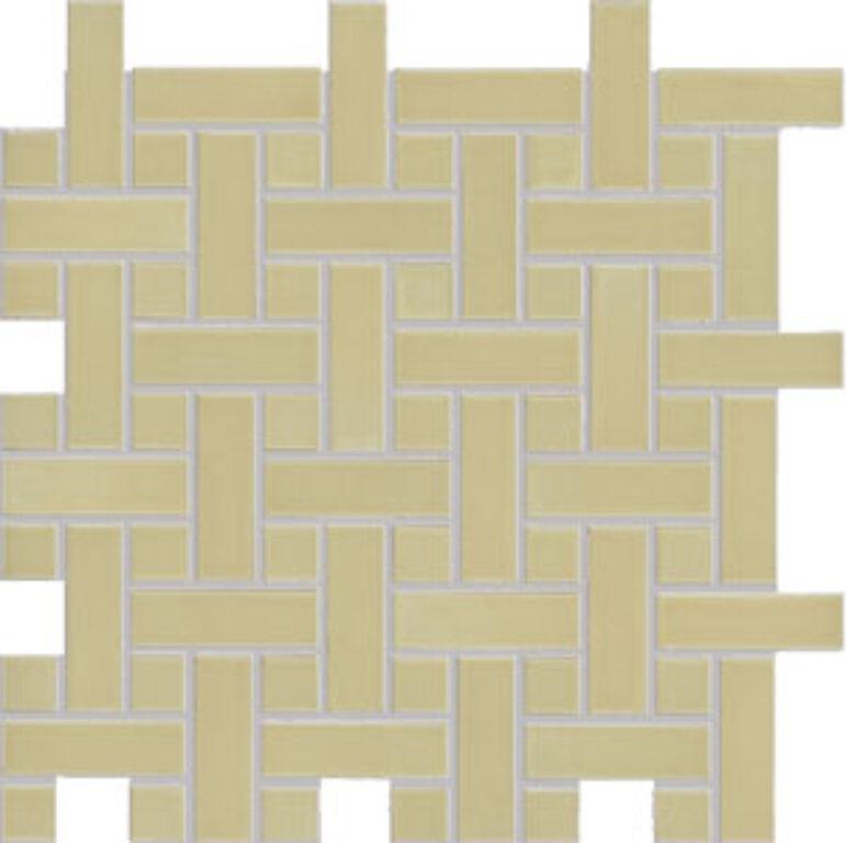 Mozaika k dlažbě Dolcevita 30/30 zelená pletenec GDMAK002 (2,3x2,3/2,3x7,3) - Doprodej obkladů a dlažeb / Mozaiky
