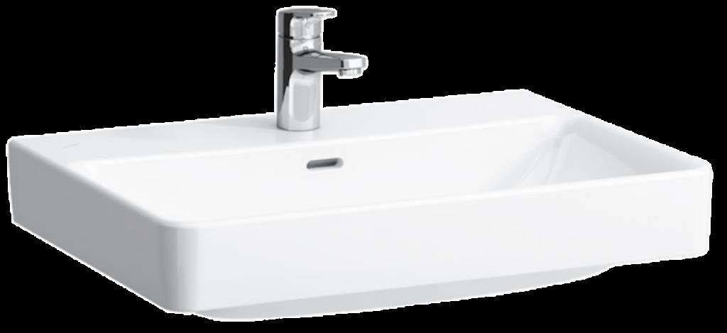 LAUFEN PRO S umyvadlo s otvorem 1096.7 (ch104) I.j - Doprodej koupelnového vybavení / Sanitární keramika v doprodeji / Umyvadla do koupelny v akci