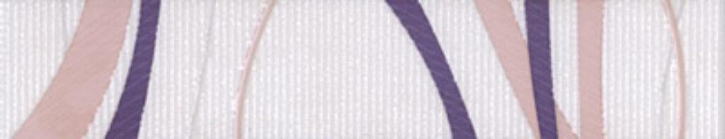 Listelo k obkladu Fantastic B14 lila 25/5 - Doprodej obkladů a dlažeb / Keramické obklady a dlažby