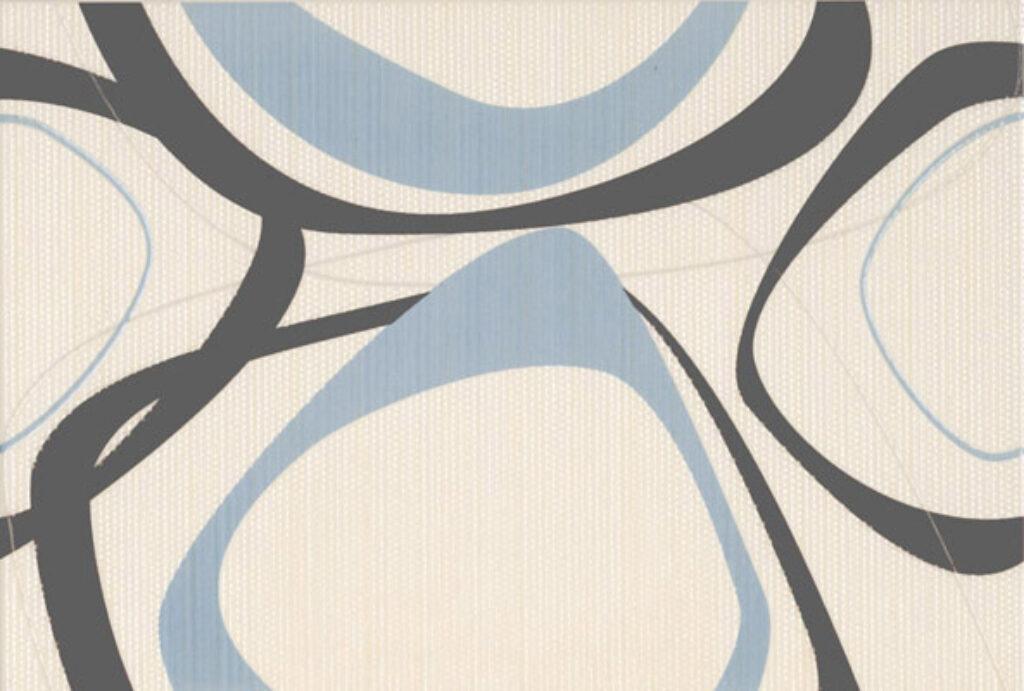 Dekor k obkladu Fantastic B14 marrón (kruhy) 25/36,5 - Doprodej obkladů a dlažeb / Keramické obklady a dlažby