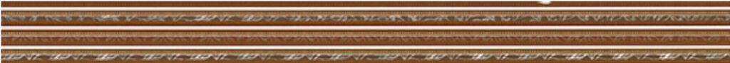 Listelo k obkladu Organza B24 beige 5/60 I.j. - Doprodej obkladů a dlažeb / Keramické obklady a dlažby