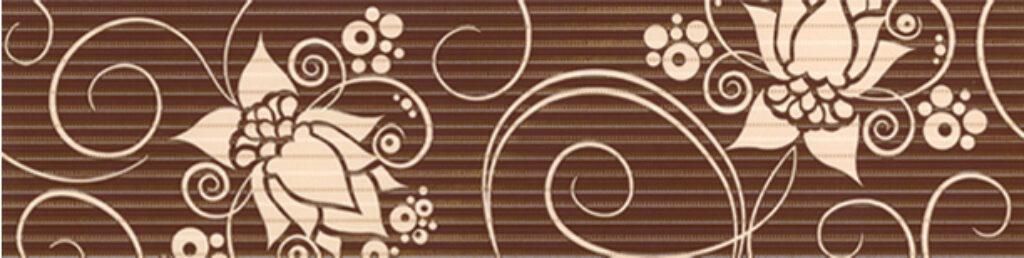 Listelo k obkladu Organza B26 beige 15/60 I.j. - Doprodej obkladů a dlažeb / Keramické obklady a dlažby