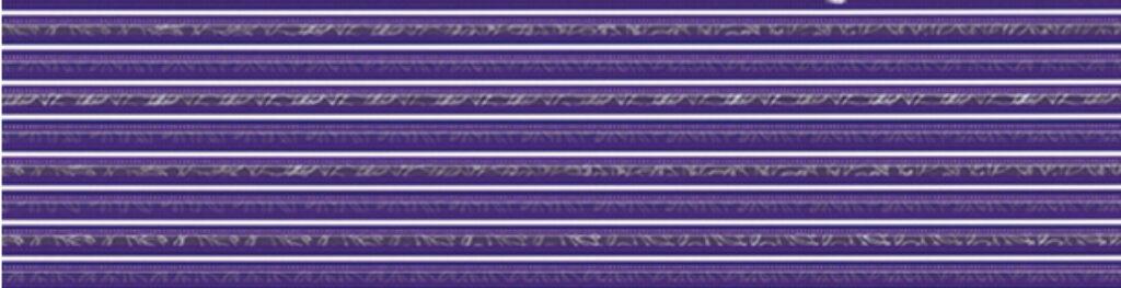 Listelo k obkladu Organza B23 lila 15/60 I.j. - Doprodej obkladů a dlažeb / Keramické obklady a dlažby
