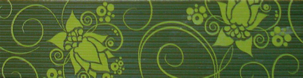organza list.B26 pistacho 15/60 I.j. - Doprodej obkladů a dlažeb / Keramické obklady a dlažby