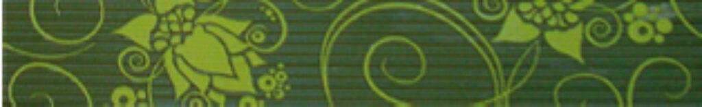 organza list.B27 pistacho 6/31,6 I.j. - Doprodej obkladů a dlažeb / Keramické obklady a dlažby