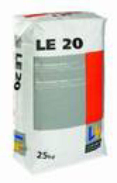 LAS LE20 (LE2) samonivelační hmota á25kg - Stavební chemie / Příprava podkladu / Katalog koupelen