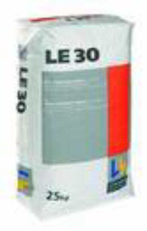LAS LE30 (LE3) samonivelační hmota rychletuhnoucí á25kg - Stavební chemie / Příprava podkladu / Katalog koupelen