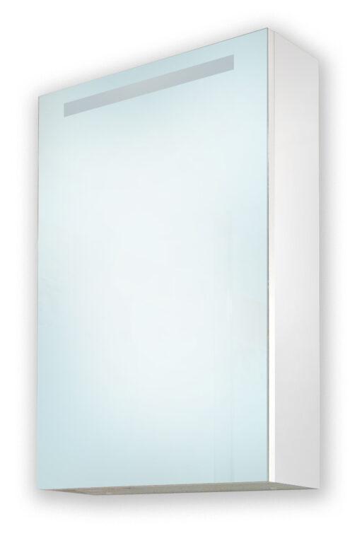 FANTASTIC zrcadlová skříňka s osvětlením, levá - Doprodej koupelnového vybavení / Koupelnový nábytek v doprodeji