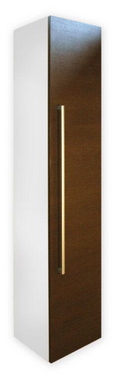 ALAMO WENGE vysoká skříňka - Doprodej koupelnového vybavení / Koupelnový nábytek v doprodeji