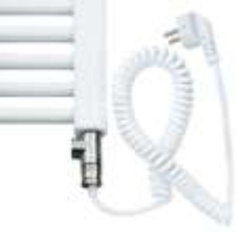 ISAN-sada pro kombinované vytápění s regul. MINI 700W (O14T1M07V-CZ) bílá - Koupelnové radiátory / Příslušenství k radiátorům do koupelny