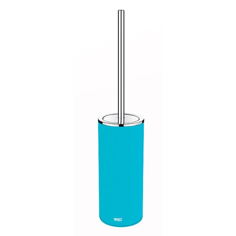 NIMCO-Pure stojánkový WC kartáč PVC modrá hebký povrch mat PU7094-60 - Koupelnové doplňky / Doplňky k WC / Katalog koupelen
