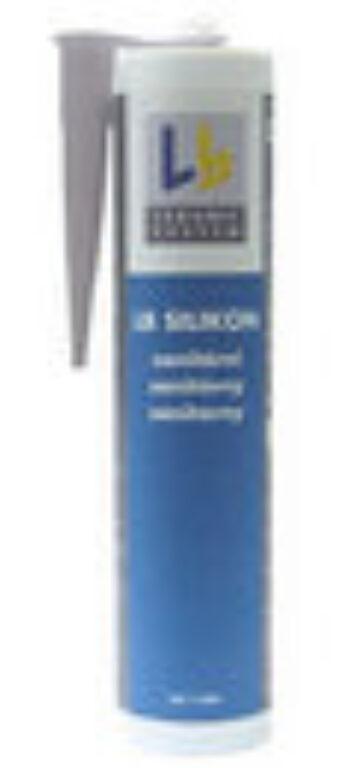 LAS SI120 silikon sv.šedá á310ml - Stavební chemie / Spárování