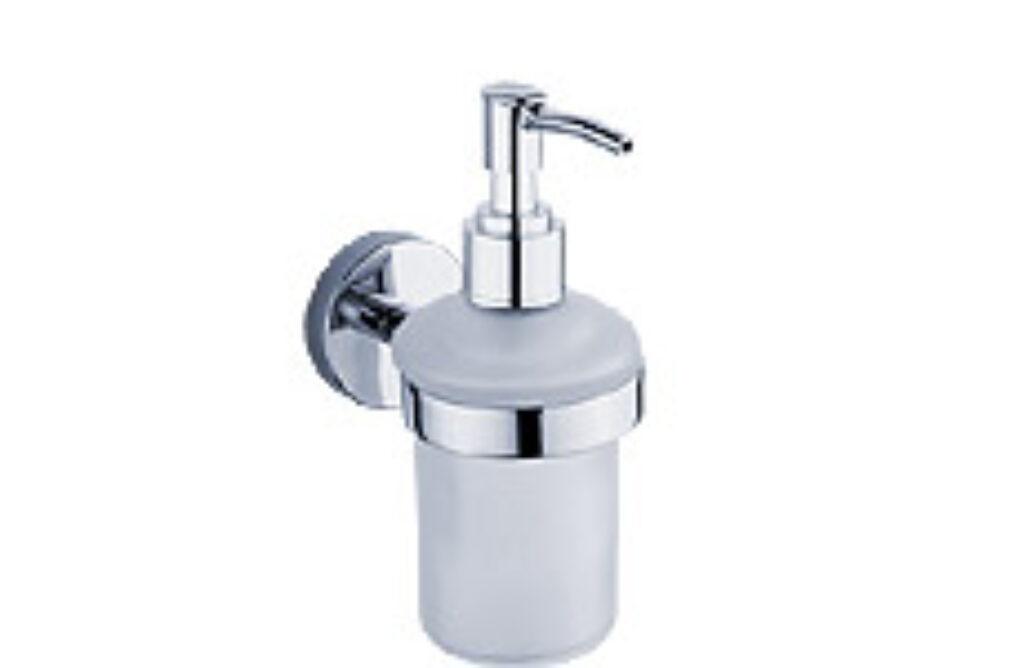 NIMCO-Unix dávkovač na tekuté mýdlo 180ml rosené matné sklo/plast UN13031C-P-26 - Doprodej koupelnového vybavení / Koupelnové doplňky v doprodeji / Doplňky do koupelny