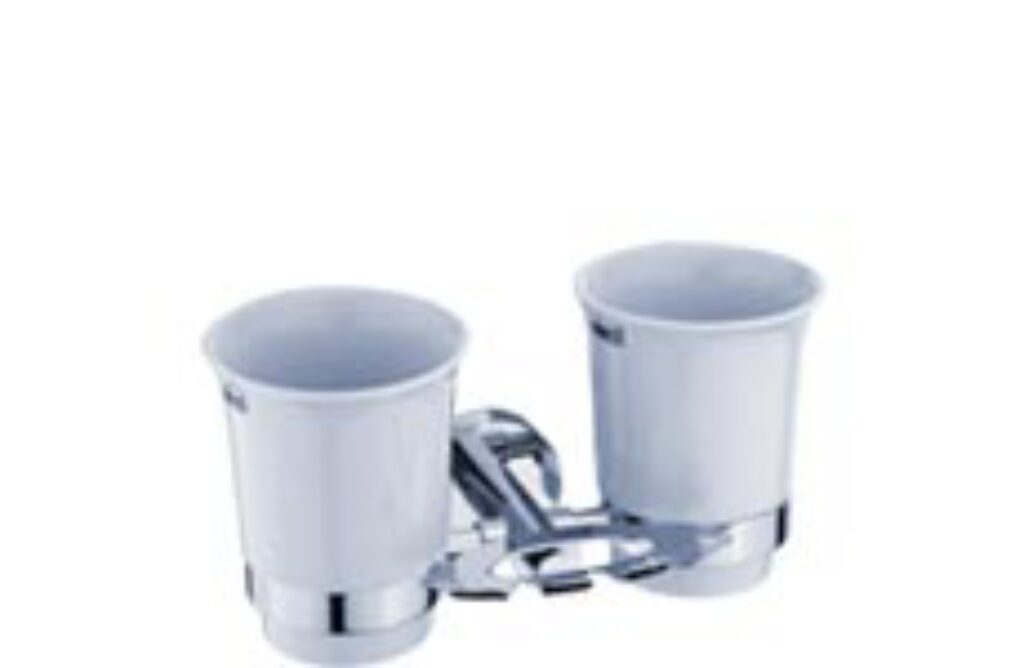 NIMCO-Unix držák kartáčků a pohárků keramika/kov UN13057DK-26 - Doprodej koupelnového vybavení / Koupelnové doplňky v doprodeji / Doplňky do koupelny