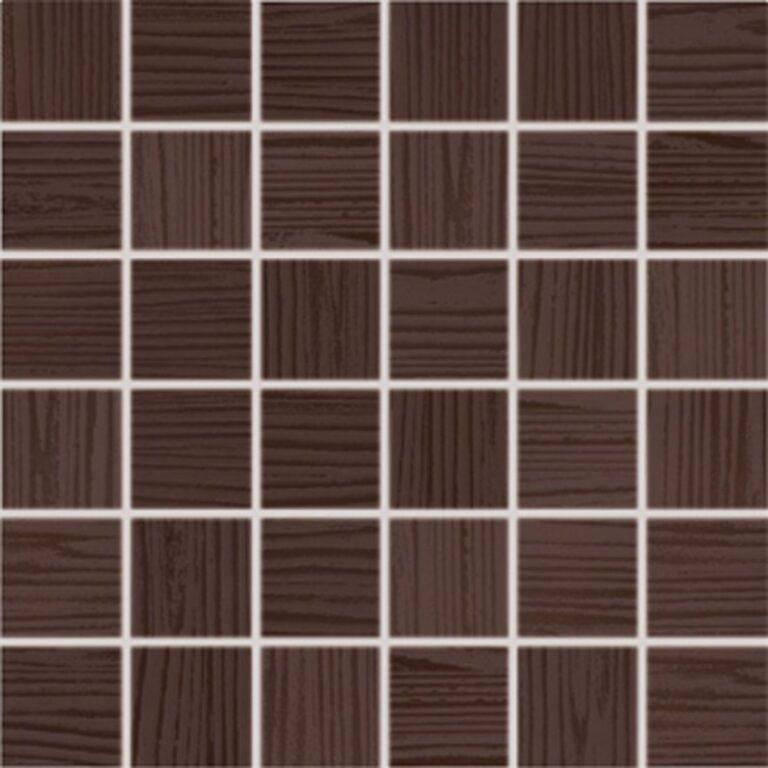 wenge hnědá mozaika 30/30 WDM05025 I.j. - Doprodej obkladů a dlažeb / Obklady a dlažby RAKO v doprodeji