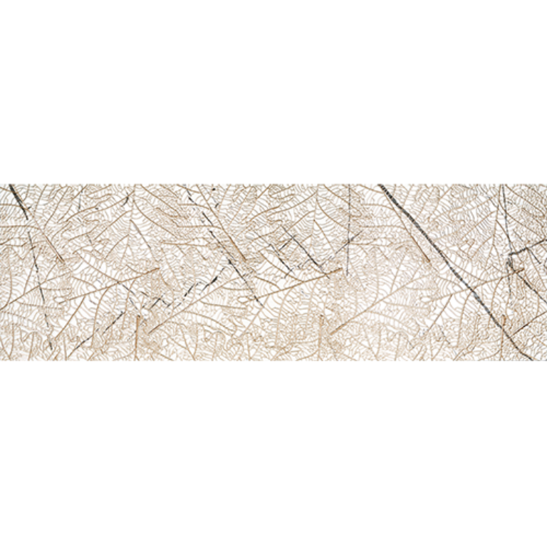agatha white leaf decor ink-rec 40/120 I.j. - Obklady a dlažby / Koupelny / Katalog koupelen