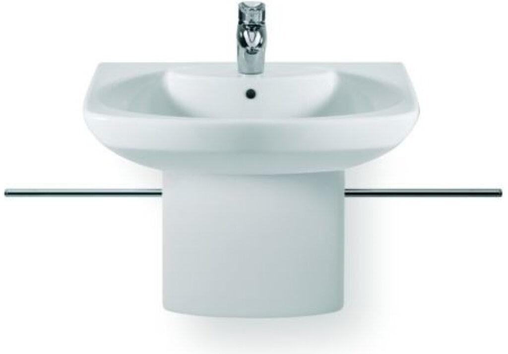 ROCA Dama Senso umyvadlo bílé 65x53 cm + kryt na sifon 7327511000 + 7337511000 - Doprodej koupelnového vybavení / Sanitární keramika v doprodeji / Umyvadla do koupelny v akci
