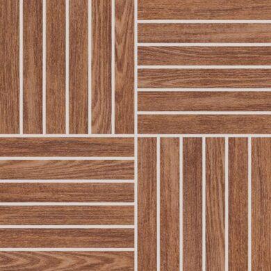 wood hnědá mozaika 29,2/29,2 DDV1V620 I.j.(0440246031301)