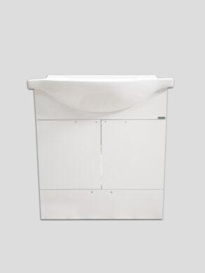 LB ELEMENTS B skříňka závěsná vč.umyvadla ELB65B.L bílá(660000ELB65BL)