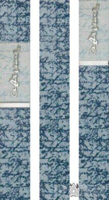 litera 33/5 I.j.modrá listela WLAKC004 (set á 3ks)(0440077051761)