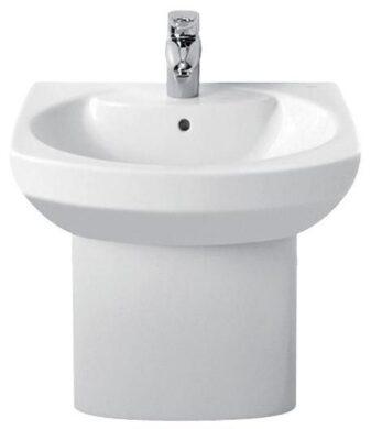 ROCA Dama Senso umyvadlo 58x45cm+kryt na sifon bílé 7327512000+7337511000(5406327512SET)