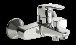 ORAS SAFIRA vanová a sprchová baterie chrom 1040U-Vanová baterie Oras Safira 1040 U je vhodná do každé koupelny. Páka umožňuej příjemné ovládání.  K dispoziic také umyvadlová baterie Safira 1015