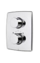 ORAS CUBISTA term.sprchová baterie 2887-Sprchová podomítková termostatická baterie nadomítková část (používaná společně se podomítkovým tělesem Oras 7127, 7137). Nutno ho dokoupit. Baterie je vhodná do každé koupelny