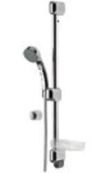 ORAS SENSIVA sprchová souprava 350 chrom-Sprchová souprava Oras Sensiva - POZOR chybí ruční sprcha. Lze připojit ruční sprchu od jiného výrobce. Úprava proti usazování vodního kamene!