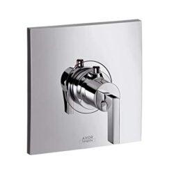 AX Citterio termostatická baterie pod omítku chrom 39710000-Designová termostatická baterie pod omítku Axor do koupelny. Nutno přiobjednat podomítkové těleso.