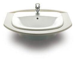 GIRALDA umyv.zápustné bílé 7327465000 I.j.-Zápustné umyvadlo 60 cm do desky. Designové Giralda 60x47,5 cm Vhodné do každé koupelny