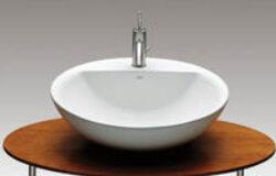 FONTANA umyvadlová mísa bílá 7327877000 I.j.-Designová umyvadlová mísa Fontana 60 × 48 cm Vhodná k postavení na desku do každé koupelny