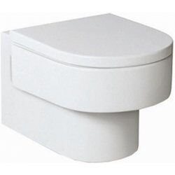 ROCA Happening závěsný klozet, hluboké splachování 7346567000-Závěsné WC designové kolekce Happening. Sedátko zvlášť - 7801562004 Vhodné do každé koupelny