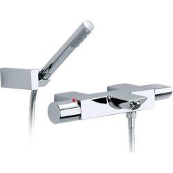 TOUCH vanová termostatická baterie se sprchou,hadice 1,7m 75A1147C00 chrom I.j.-Vanová termostatická baterie se sprchou, hadicí 1,7 m a držákem, chrom. Vhodná do každé koupelny